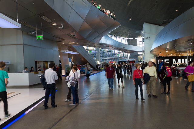 BMW museum.