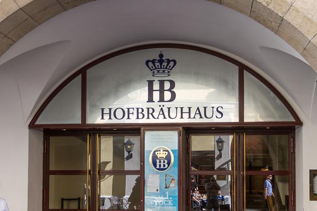 Hofbrauhaus entrance