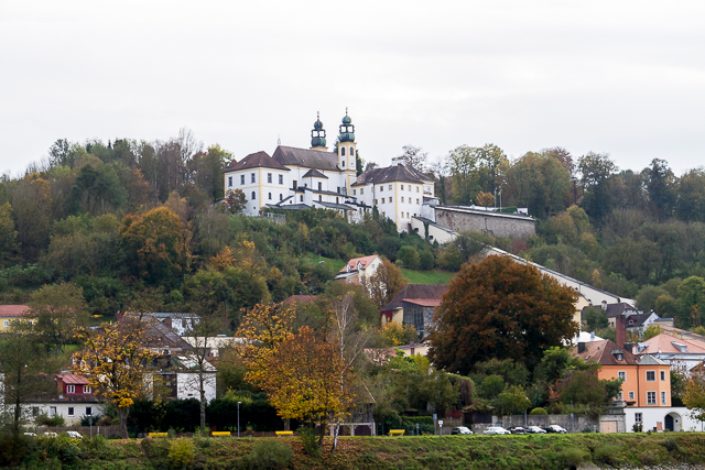 The Capuchin Monastery in Passau.