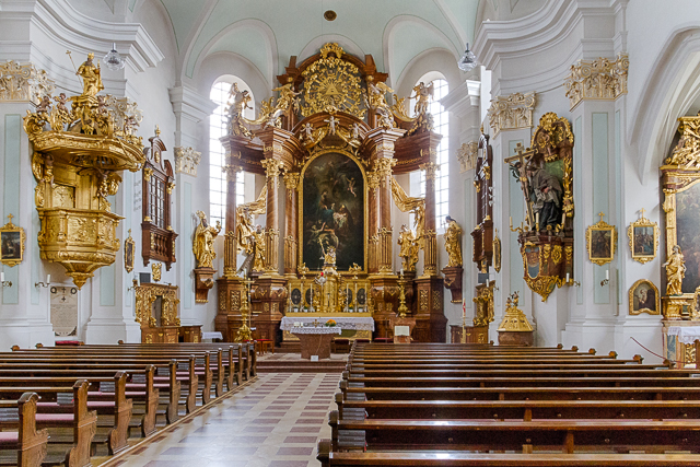 St Johannes Church Vilshofen, Germany