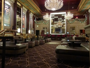 The Bond restaurant and lounge.