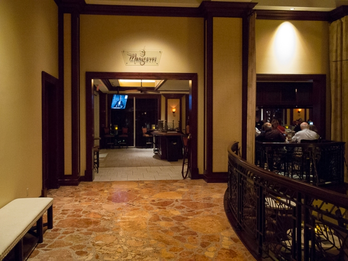 Lobby view of the bar.