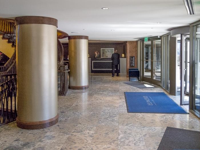 Entrance and lobby.