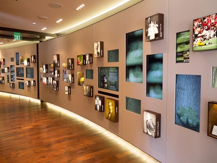 Photo wall.